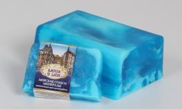 Мыло со свирлами с ароматом морских солей и минералов