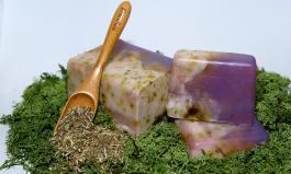 Мыло с шалфеем и лавандой